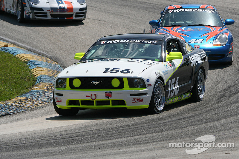 #156 Hyper Sport Mustang GT: Charles Espenlaub, Patrick Dempsey