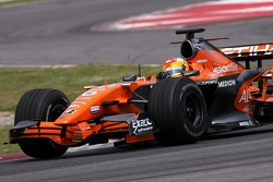 Adrian Valles, Test Driver, Spyker F1 Team - Spyker F1 Team