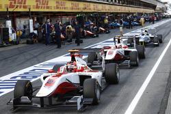 Esteban Ocon and Marvin Kirchhofer, ART Grand Prix