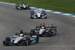 James Jakes and James Hinchcliffe, Schmidt Peterson Motorsports Honda
