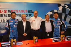 Pegasus Racing and Total announcement