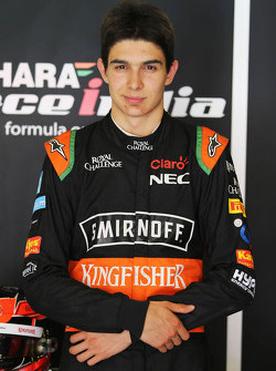 Esteban Ocon, Sahara Force India F1 Team Test Driver