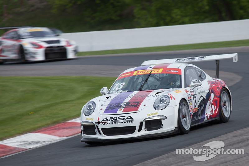 #13 ANSA Mtorsports Porsche 911 GT3 Cup: Lorenzo Trefethen