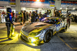 Pit stop for #25 Marc VDS Racing BMW Z4 GT3: Maxime Martin, Lucas Luhr, Markus Palttala, Richard Westbrook