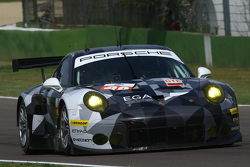 #88 Proton Competition Porsche 911 RSR: Richard Lietz, Marco Mapelli, Christian Ried