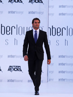 Felipe Nasr, Sauber F1 Team at the Amber Lounge Fashion Show