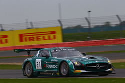 #21 Black Falcon Mercedes SLS AMG GT3: Hupert Haupt, Abdulaziz Al Faisal, Yelmer Buurman