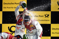 Podium: Jamie Green, Audi Sport Team Rosberg Audi RS 5 DTM and Edoardo Mortara, Audi Sport Team Abt Audi RS 5 DTM