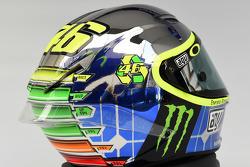 Helmet design of Valentino Rossi, Yamaha Factory Racing for the 2015 Italian Grand Prix at Mugello