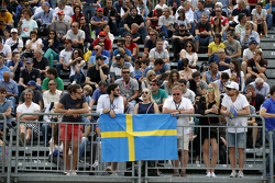Supporters of Felix Rosenqvist, Prema Powerteam Dallara Mercedes-Benz