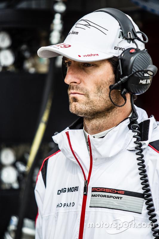 #17 Porsche Team Porsche 919 Hybrid: Mark Webber