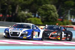 #36 Sainteloc Racing Audi R8 LMS Ultra: Edoardo Mortara, Adrien Tambay, Grégory Guilvert