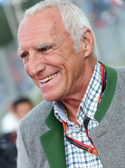 Dietrich Mateschitz, CEO and Founder of Red Bull at the Legends Parade