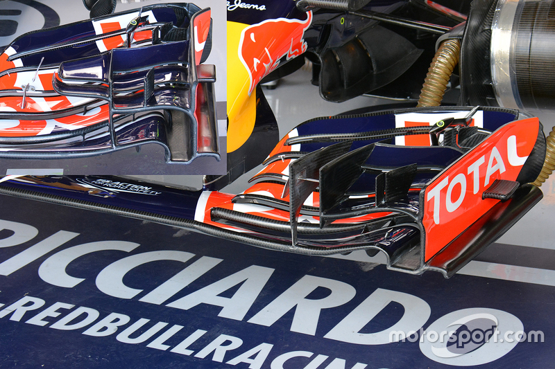 Technical analysis: Red Bull front wing