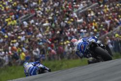 Aleix Espargaro and Maverick Viñales, Team Suzuki MotoGP