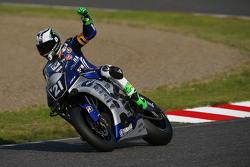 #21 Yamaha: Katsuyuki Nakasuga, Pol Espargaro, Bradley Smith on pole position