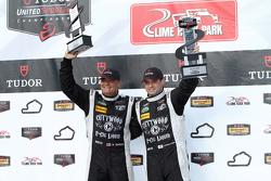 Race winners #52 PR1 Mathiasen Motorsports Oreca FLM09: Mike Guasch, Tom Kimber-Smith