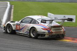 #28 Delahaye Racing Team Porsche 997 GT3R: Emmanuel Orgeval, Pierre Bordet, Alexandre Viron