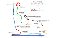FIA WEC dream track by G-Drive Racing