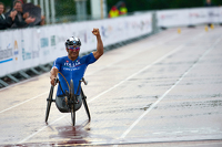 Alex Zanardi at the UCI Para-cycling World Championship