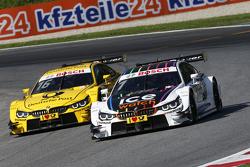 Timo Glock, BMW Team MTEK BMW M4 DTM and Marco Wittmann, BMW Team RMG BMW M4 DTM