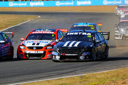 Andre Heimgartner, Super Black Racing Ford and Garth Tander, Holden Racing Team
