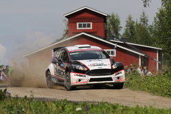 Jari Ketomaa and Kaj Lindstrom, Ford Fiesta WRC