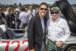 Scott Pruett and Sir Jackie Stewart