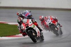 Danilo Petrucci, Pramac Racing Ducati and Andrea Dovizioso, Ducati Team and Jorge Lorenzo, Yamaha Factory Racing