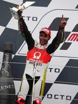 Podium: second place Danilo Petrucci, Pramac Racing Ducati
