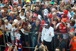 Fernando Alonso, McLaren with the fans