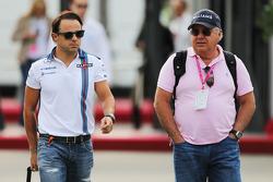 Felipe Massa, Williams with his father Luis Antonio Massa