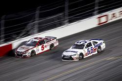 Kasey Kahne, Hendrick Motorsports Chevrolet and David Ragan, Michael Waltrip Racing Toyota