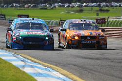 Mark Winterbottom and Steve Owen, Prodrive Racing Australia Ford and Shane van Gisbergen and Jonathon Webb, Tekno Autosports Holden