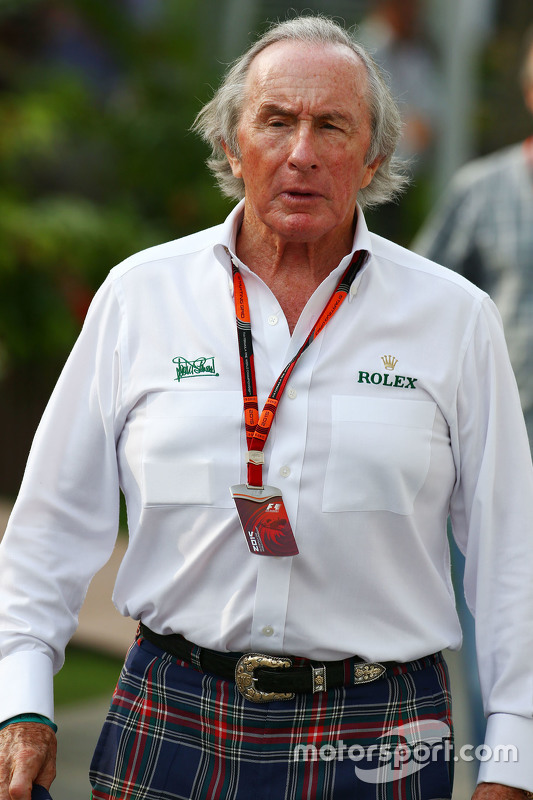 Sir Jackie Stewart At Singapore Gp Formula 1 Photos