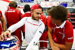 Will Stevens, Manor Marussia F1 Team com Roberto Merhi, Manor Marussia F1 Team