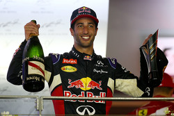 Second place Daniel Ricciardo, Red Bull Racing