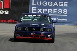 #37 JBS Motorsports Mustang GT: Bret Seafuse, James Gue