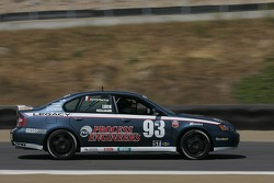 #93 GOTO Racing Subaru Legacy: Michael Neujahr, Chris Lock