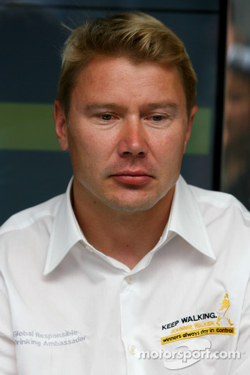 Mika Hakkinen, Ex F1 World Champion, Global Responsible Drinking Ambassador for Johnnie Walker