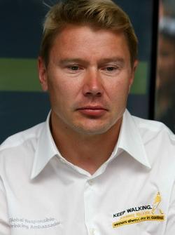 Mika Hakkinen, Ex F1 World Champion, Global Responsible Drinking Ambassador for Johnnie Walker