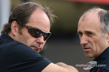 Gerhard Berger, Scuderia Toro Rosso, 50% Team Co Owner and Franz Tost, Scuderia Toro Rosso, Team Principal