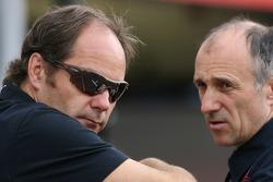 Gerhard Berger, Scuderia Toro Rosso, 50% Team Co Owner and Franz Tost, Scuderia Toro Rosso, Team Principal