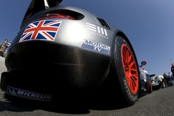 Detail of the Team Modena Aston Martin DBR9