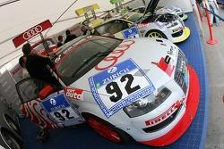 Pirelli Competizioni paddock area