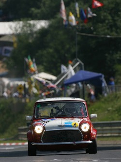 #163 Walter Kaufmann Rover Mini Cooper: Gregor Nick, Hans Söderholm