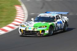 #5 Zakspeed Racing Dodge Viper GTS-R: Hans-Peter Huppert-Nieder, Toni Feidt, Werner Mohr, Michael Klein