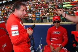 Jean Todt, Scuderia Ferrari, Ferrari CEO and Felipe Massa, Scuderia Ferrari