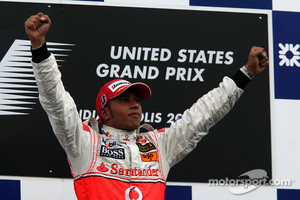 Lewis Hamilton won the last US GP in 2007