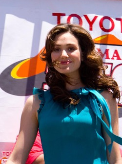 Actor and recording star Emmy Rossum